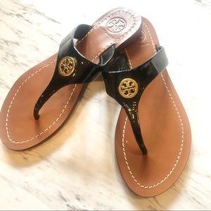 Tory Burch Black Sandals NEW